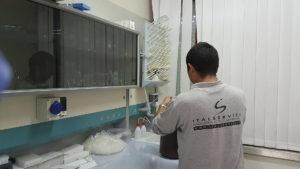 Pulizia laboratori clinici