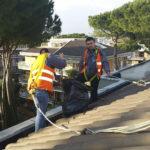 pulizia tetti roma