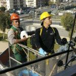 pulizia vetrate roma
