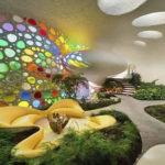 Progettazione giardino interno